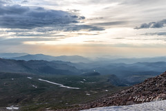 June 16, 2018 - Smoke and haze as seen from the top of Mount Evans. (Tony's Takes)