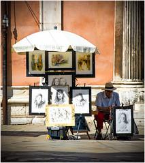 street art (kurtwolf303) Tags: 2018 italien stadt venedig artist künstler maler painter strasenkünstler streetartist venice venezia italy italia nikon nikond5500 paintings gemälde strasenfotografie streetphotography urban urbanlifeinmetropolis unlimitedphotos dslr kurtwolf303