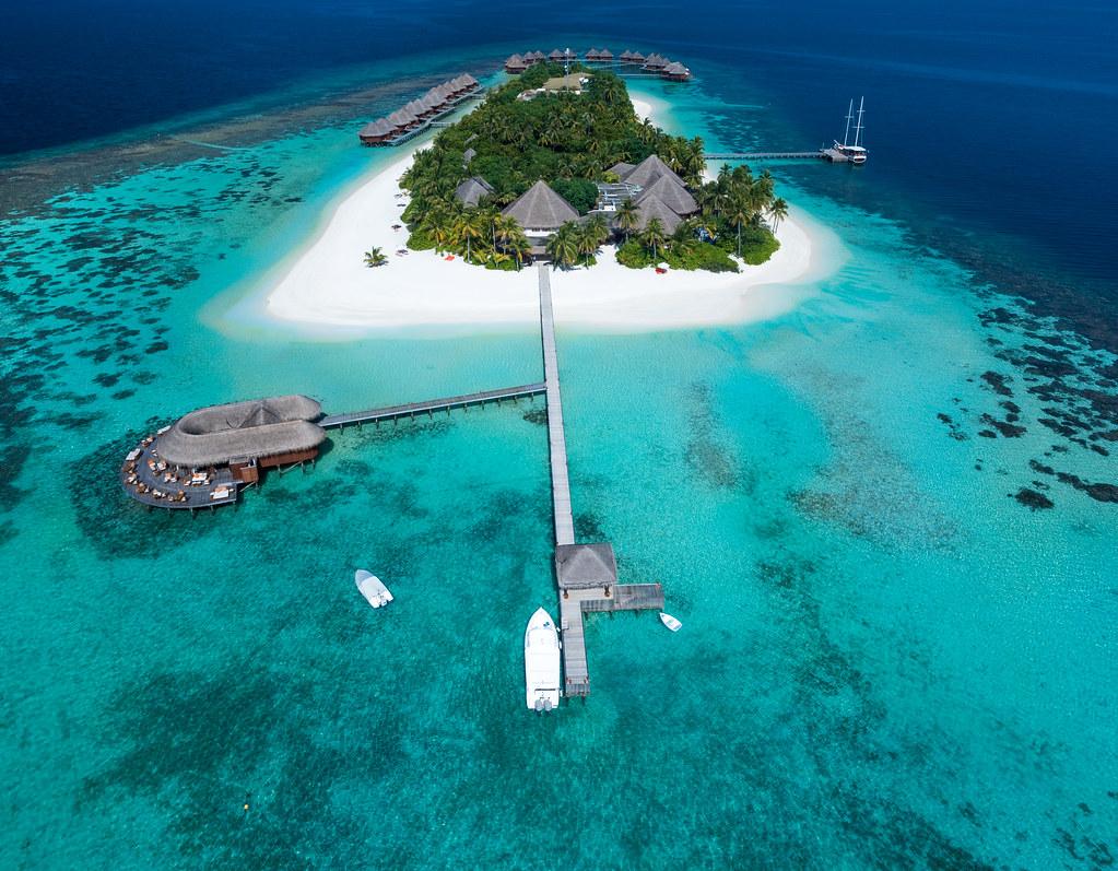 Mirihi Island Aeria