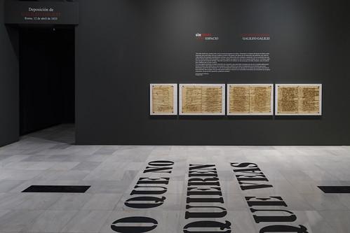 """Exposición """"Montserrat Soto. Imprimatur"""""""