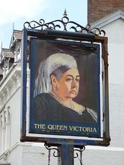 Pub Sign - The Queen Victoria, Church Walks, Llandudno 180426 (maljoe) Tags: pubsigns pubsign inn inns publichouse pub pubs tavern taverns