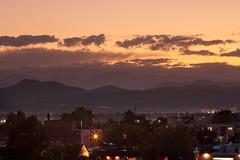 Mount Evans Sunset (Kevin Bauman) Tags: denver colorado clouds sunset night mountains mtevans mountain mountevans mountmorrison alpine frontrange rockymountains