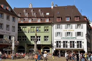 Turistas en Friburgo