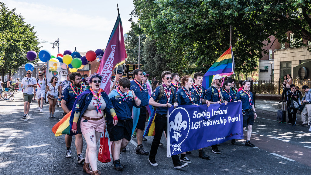 ABOUT SIXTY THOUSAND TOOK PART IN THE DUBLIN LGBTI+ PARADE TODAY[ SATURDAY 30 JUNE 2018] X-100134