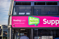 Reading Buses. Charity of the Year. (mangopearuk) Tags: uk unitedkingdom england berkshire reading readingbuses openday family fun hot sun sky sunshine event bus buses publictransport transit colour bright