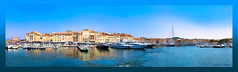 Saint Tropez  . . . (Dichtung & Wahrheit (Poetry and Truth)) Tags: travel sea europe france ship boat harbor yachts