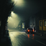 Lonely woman on street thumbnail