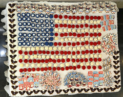 Cupcakes 'n cookies (Vero Vasquez) Tags: 4thofjuly july4th independenceday flag americanflag usflag fourthofjuly cake frosting cupcakes cookies