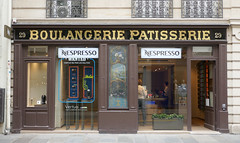 Formerly a Boulangerie Patisserie - Marais, Paris (Monceau) Tags: 365the2018edition 3652018 day192365 11jul18 192365 365picturesin2018 boulangerie patisserie storefront shop quintessential change morphed plusçachange marais paris