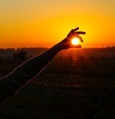 LA DEHESA DE ABAJO, SPAIN ((Jota)) Tags: anochecer atardecer backlighting cieloanaranjado contraluz ladehesadeabajo luzdeatardecer orangesky puestadesol sol sun sunset sunsetlight