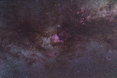 Milky Way wide field (Brieuc.Baillot) Tags: 28 70200 2018 allemagne d600 deggendorf deutschland easternveil f28 germany july milkyway nebula ngc6992 ngc7000 nikon northamerica veil voielactée westernveil widefield