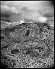 Stone and sky (Foide) Tags: holga120s fomapan stone sky