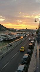 Budapest Budapest, te csodás (ezvoltszabad) Tags: budapest sunset bridge oneplus warm water danube