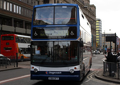 17666 V166 DFT (Cumberland Patriot) Tags: stagecoach north west england greater manchester south buses dennis trident low floor bus