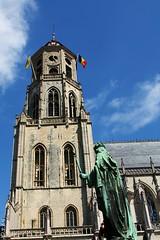 Sint-Gummarus Tower (Peter De Vos69) Tags: sintgummarus tower sky clouts church lier belgium