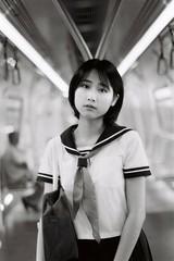 ILFORD DELTA 400 (Waynegraphy) Tags: waynegraphy waynelee nikon nikonf3 50mmf18d 50mm ilford ilforddelta film 35mm malaysia girl ladies blackandwhite