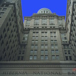 New Orleans  Louisiana  - Hibernia Nation Bank - Lighted Tower thumbnail