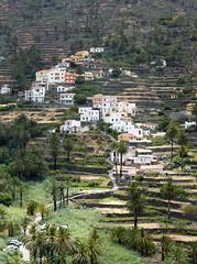 Valle Gran Rey (ossian71) Tags: spanyolország spain kanáriszigetek canaryislands lagomera gomera vallegranrey természet nature tájkép landscape völgy valley terasz bench