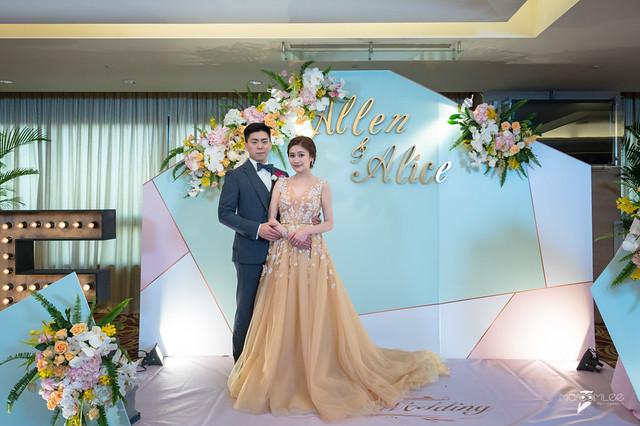 Allen&Alice-台南大億麗緻宴客-婚禮記錄-57