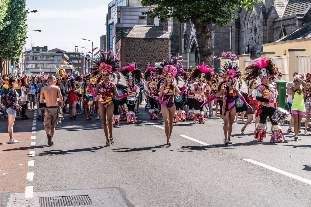 ABOUT SIXTY THOUSAND TOOK PART IN THE DUBLIN LGBTI+ PARADE TODAY[ SATURDAY 30 JUNE 2018] X-100193