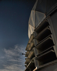 Big Telescope (Astroguy2005) Tags: het louvers night moon clouds stars