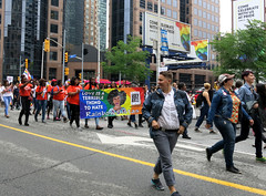 Love is a Terrible Thing to Hate (Georgie_grrl) Tags: dykemarch2018 toronto ontario pride happypride lgbtq celebration community family loveislove canonpowershotg15