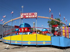 Wheaton, IL, Taste of Wheaton, Carnival, Tilt-A-Whirl Ride (Mary Warren 11.0+ Million Views) Tags: wheatonil carnival ride colorful tiltawhirl