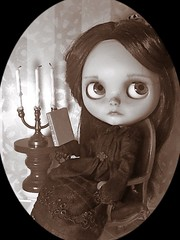 "Blythe-a-Day#18. Shelley Victorian:  ""No Coward Soul Is Mine"" • <a style=""font-size:0.8em;"" href=""http://www.flickr.com/photos/154461393@N05/42273402004/"" target=""_blank"">View on Flickr</a>"