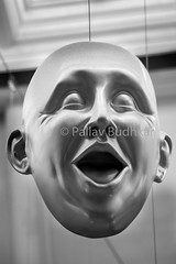 Expressions 2 (Pallav Budhkar) Tags: 500px scotland 2017 80d canon eos80d monochrome face self toned image black white sepia horror human hairdo dark eyeball eyebrow canon80d