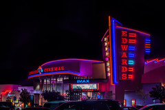 edwards cinemas (pbo31) Tags: bayarea california night dark black july 2018 boury pbo31 nikon d810 summer color solanocounty fairfield solanotowncenter edwardscinemas neon pink movies imax theater mall red sign