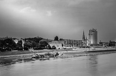 Osijek -zimska luka (gsantar) Tags: film photography mamiya press 23 sekor 100mm 35 foma 100 ro9 dev 7 40