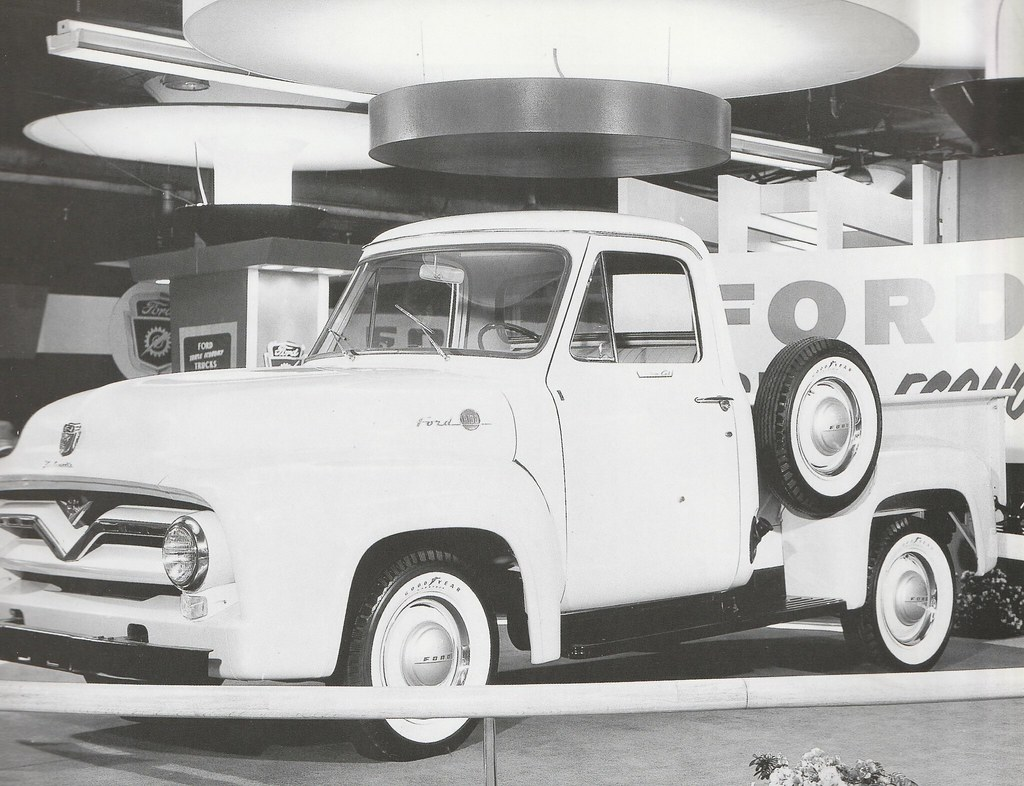 The Worlds Best Photos Of 1955 And Ford Flickr Hive Mind F100 Pro Street F 100 Chicago Auto Show Press Photo Usa Five Starr