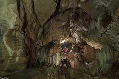 Daniel dans la Galerie d'entrée de la Grotte de Beaumotte les Pins (francky25) Tags: daniel dans la galerie dentrée de grotte beaumotte les pins haute saone franchecomté karst