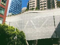 Penrose tiling (Dana L. Brown) Tags: perforated screen skin awning