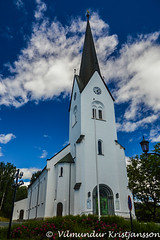 Hamar domkirke (DSC_8432vk) (Villi Kristjans) Tags: vk vilmundur villi vkphoto kristjansson kristjans kristjáns kristjánsson trip travel trees tree summer sky digital d3200 color colour cloud nikon hamar domkirke norway noregur norge norsk church kyrka kirke kirkja building grass green june 2018