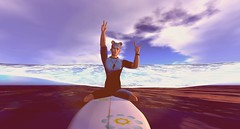 Surfing time! (Patch Linden) Tags: patch linden patchlinden second life secondlife riot