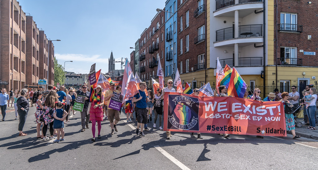 ABOUT SIXTY THOUSAND TOOK PART IN THE DUBLIN LGBTI+ PARADE TODAY[ SATURDAY 30 JUNE 2018] X-100013