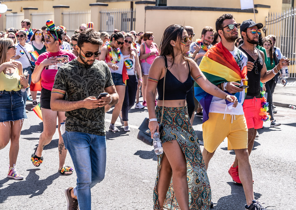 ABOUT SIXTY THOUSAND TOOK PART IN THE DUBLIN LGBTI+ PARADE TODAY[ SATURDAY 30 JUNE 2018] X-100209