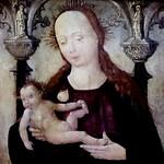 IMG_0100G X Cologne vers 1500 Vierge à l'Enfant. Virgin and Child. Tours Musée des Beaux Arts thumbnail
