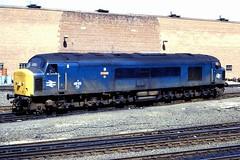 45113  Athene Gateshead 150588 (silvermop) Tags: locos diesellocos class45 brbluelocos rail gatesheadmpd