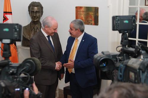 Rui Rio em audiência com Paulo Cunha