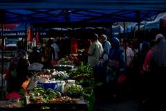 DSCF9557 (lukmanism) Tags: fujifilm helios442 lensturbo2 kualaklawang negerisembilan malaysia streetphotoghraphy silhouette vintagelens pasartani market sunrise muziumadat