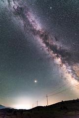 20180711-LRC94141 (ellarsee) Tags: mars milkyway mountshasta astrolandscape astropano astrotracer flickr landscape night nightlandscape panorama