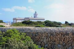 Pared de petra y Faro (California Will) Tags: capblanc lighthouse light faro phare mediterranean mallorca balearicislands españa es spain europe