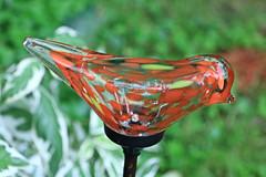 Bird Ornament Macro (hbickel) Tags: bird ornament colorful macro canont6i canon photoaday pad