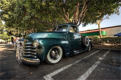 1949 chevy truck (pixel fixel) Tags: 1949 anaheim anaheimmarketplace chlvrde green pendletonseats truck tweakedpixels viejitoscc ©2018kathygonzalez
