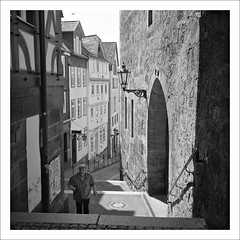 Marburg/Lahn (macfred64) Tags: film analog mediumformat 120 6x6 rolleiflex35f czplanar fujineopan400cn bw blackandwhite c41 marburg hessen homeland germany