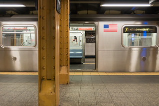 Main St - Flushing station, Flushing, Queens, New York, NY