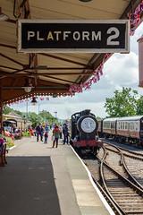 Day out with Thomas - West Somerset Railway (myfrozenlife) Tags: westsomersetrailway rail minhead aerialphotos trains dayout railway somerset thomasthetankengine england unitedkingdom gb