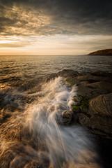 parton sunset (akh1981) Tags: amateurphotography seaside seascape sunset cumbria clouds beautiful nikon nisi nature nisifilters manfrotto ocean rocks travel wideangle water